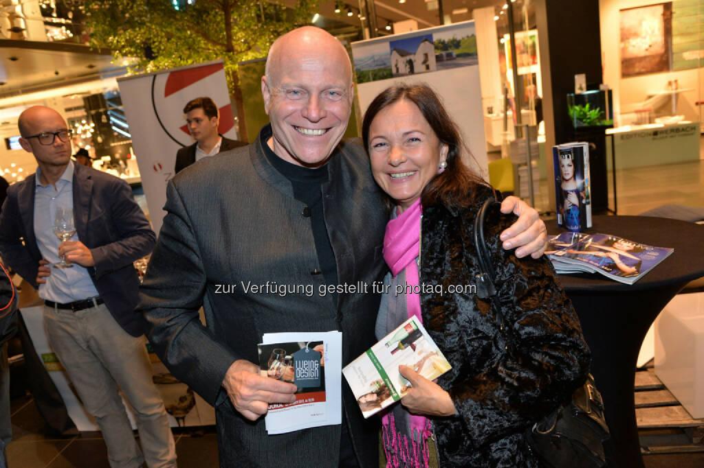 live relations-Geschäftsführer Ralph Vallon, Back-Unternehmerin Doris Felber , © leisure.at/Christian Jobst (25.10.2013)