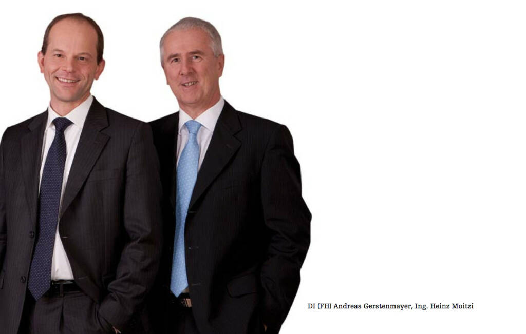 Vorstand: Andreas Gerstenmayer, Heinz Moitzi, © AT&S (26.10.2013)