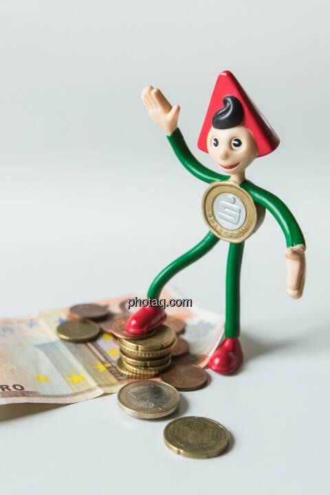 Sparefroh und das Geld