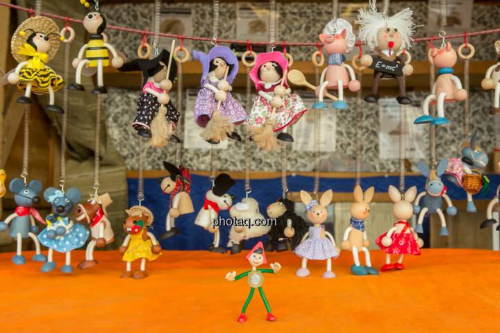 Sparefroh als Puppenspieler
