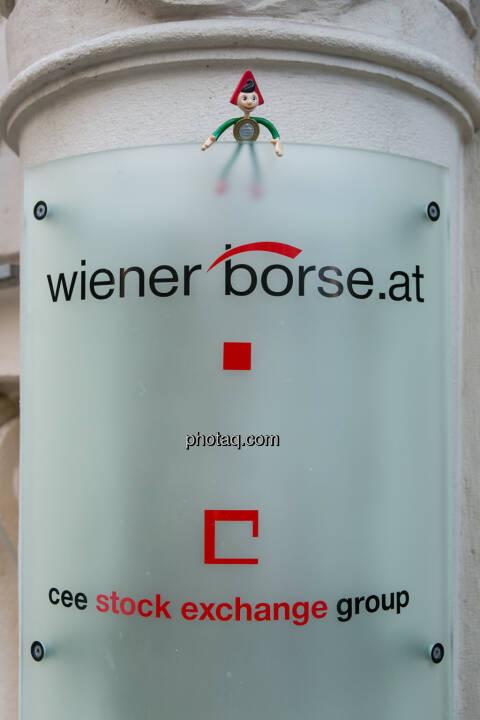 Sparefroh bei der Wiener Börse
