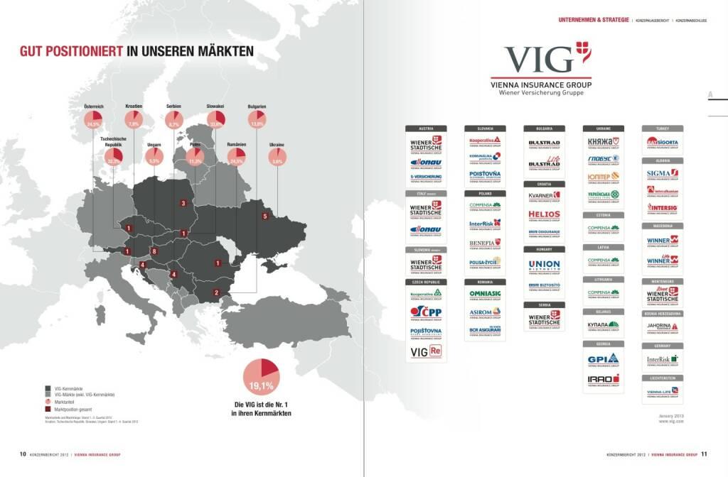Gut positioniert in unseren Märkten, © VIG (28.10.2013)
