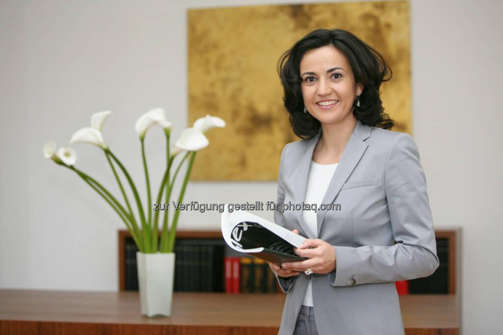 Bettina Windisch-Altieri, Benn-Ibler Rechtsanwälte GmbH, informiert über die Patent- und Markenrechts-Novelle (c) fotodienst/Anna Rauchenberger  (28.10.2013)