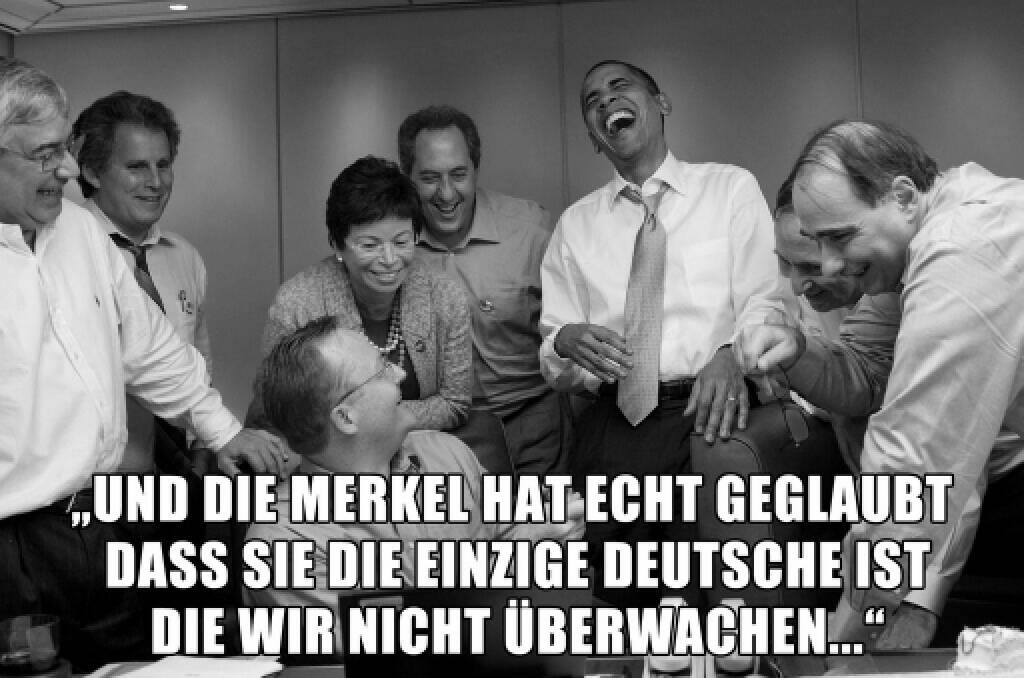 Merkel-Überwachung per USA (30.10.2013)