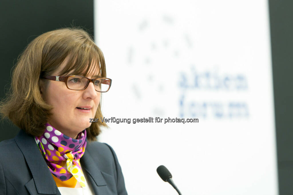 Henriette Lininger, Wiener Börse, © Martina Draper für das Aktienforum (30.10.2013)