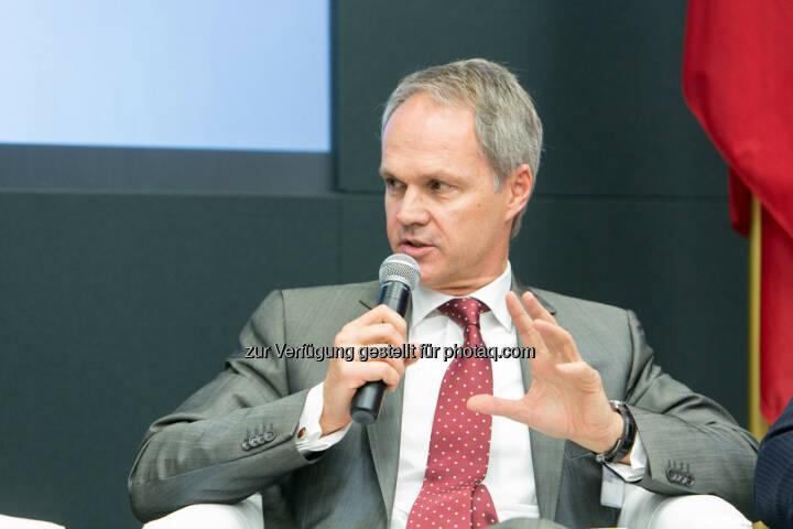 Martin Grüll, CFO Raiffeisen International Bank AG