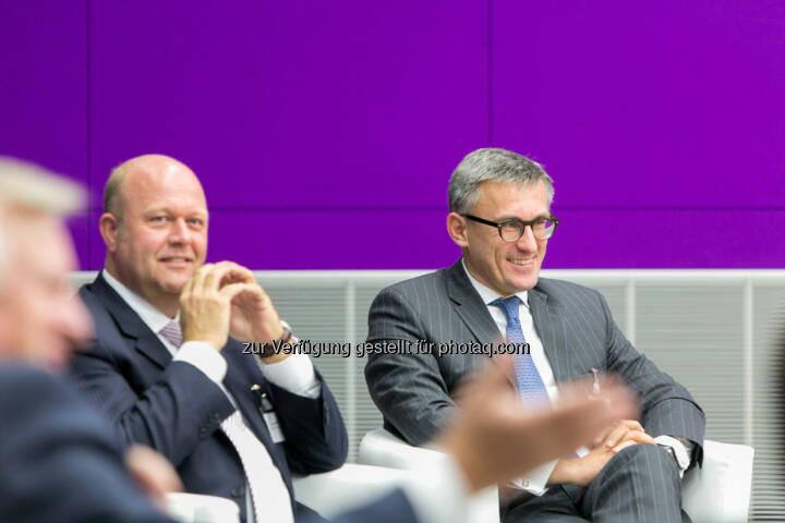 Alexander v. Preen, GF und Partner, Kienbaum Management GmbH, Robert Ottel, CFO voestalpine AG