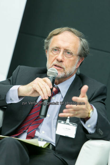 Friedrich Rödler, Vorsitzender des AR, Erste Group Bank AG, © Martina Draper für das Aktienforum (30.10.2013)