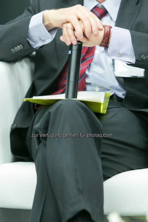 Austrian Equity Day 2013, Mikrofon