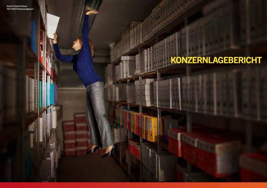 Sylvia Frühwirth-Ekloud, Reisemanagement, Konzernlagebericht, © Palfinger (30.10.2013)