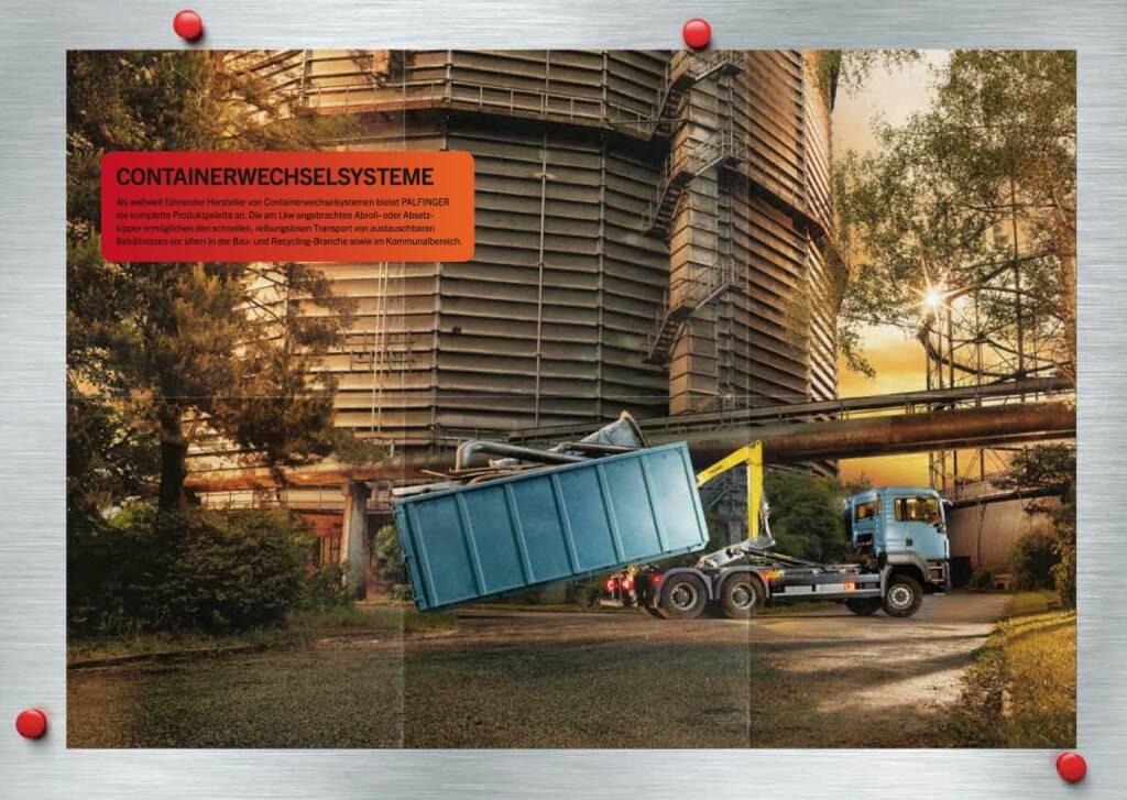 Containerwechselsystem, © Palfinger (30.10.2013)