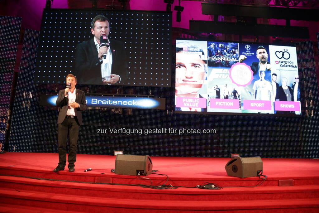 Markus Breitenecker, Geschäftsführer ProSiebenSat.1 Puls 4 (Bild: Conny de Beauclair) (31.10.2013)
