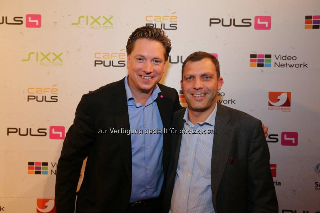 Michael Stix & Andreas Martin (pilot@media GmbH) (Bild: Conny de Beauclair) (31.10.2013)