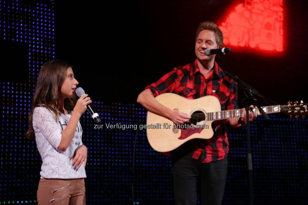 Michelle & Nick Howard (Bild: Conny de Beauclair) (31.10.2013)