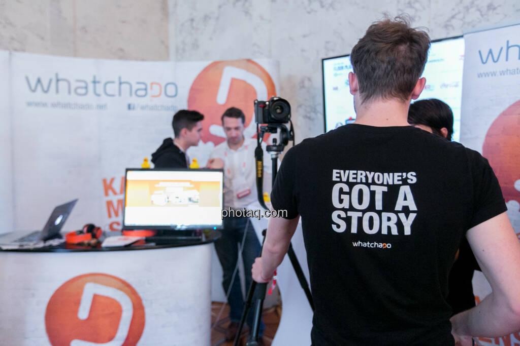 whatchado am Pioneers Festival 2013, siehe auch http://www.finanzmarktfoto.at/search/whatchado, © finanzmarktfoto.at/Martina Draper (01.11.2013)