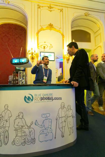 Blue Danube Robotics am Pioneers Festival 2013, © finanzmarktfoto.at/Martina Draper (01.11.2013)