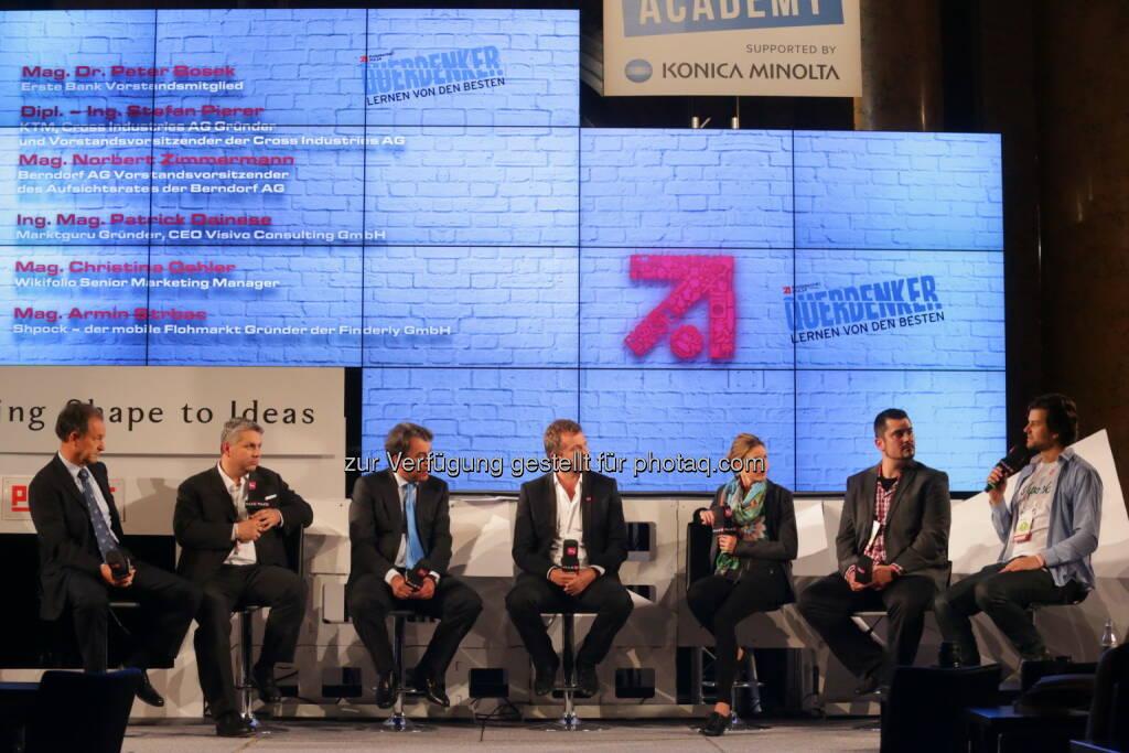 Zimmermann, Bosek, Pierer, Breitenecker, Oehler, Dainese, Strbac (Bild: Conny de Beauclair) (01.11.2013)