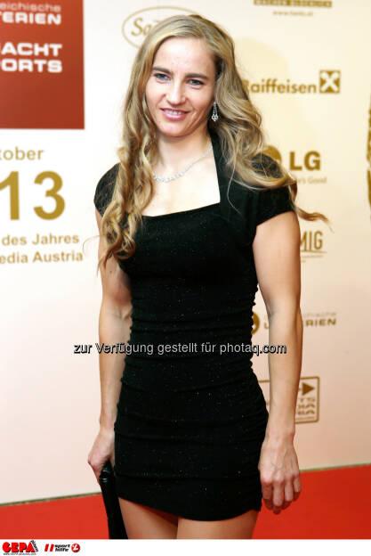 Natalija Eder (AUT). Foto: GEPA pictures/ Walter Luger (02.11.2013)