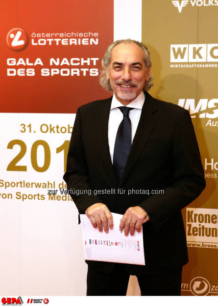 Praesident Peter Kleinmann (OEVV). Foto: GEPA pictures/ Walter Luger (02.11.2013)