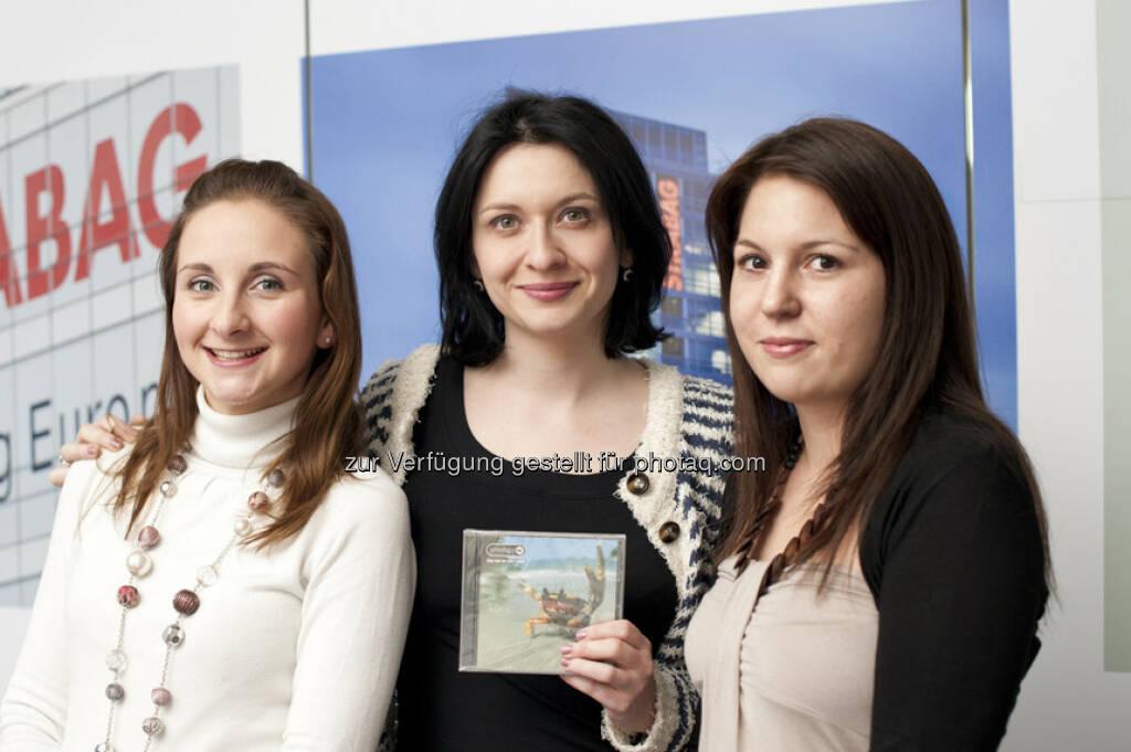 Diana Klein und das Strabag-Team (15.12.2012)