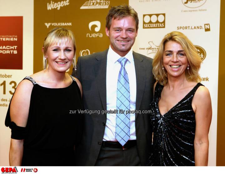 Renate Goetschl, Hannes Kargl und Emese Hunyady. Foto: GEPA pictures/ Walter Luger