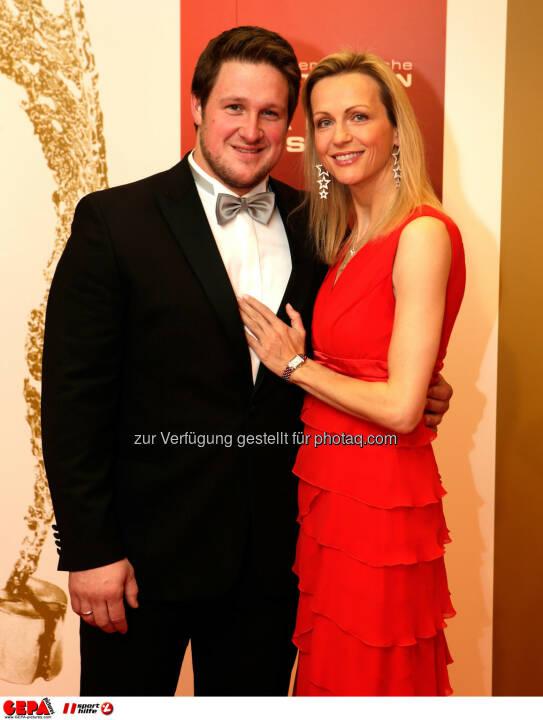 Matthias Steiner  und Inge Steiner. Foto: GEPA pictures/ Walter Luger