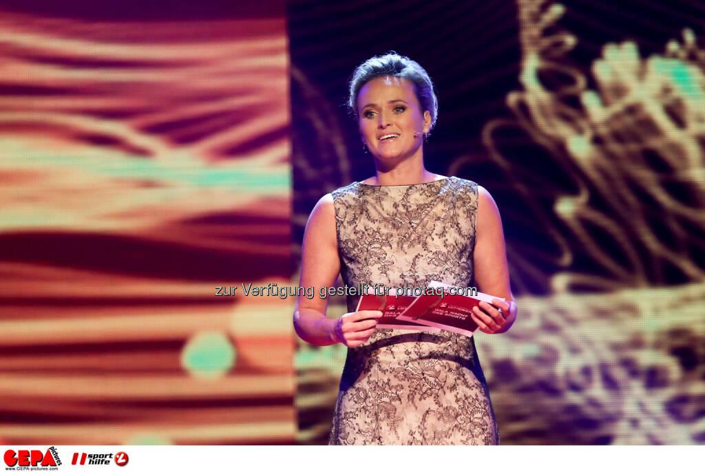 Alexandra Meissnitzer (ORF). Foto: GEPA pictures/ Christian Walgram (02.11.2013)