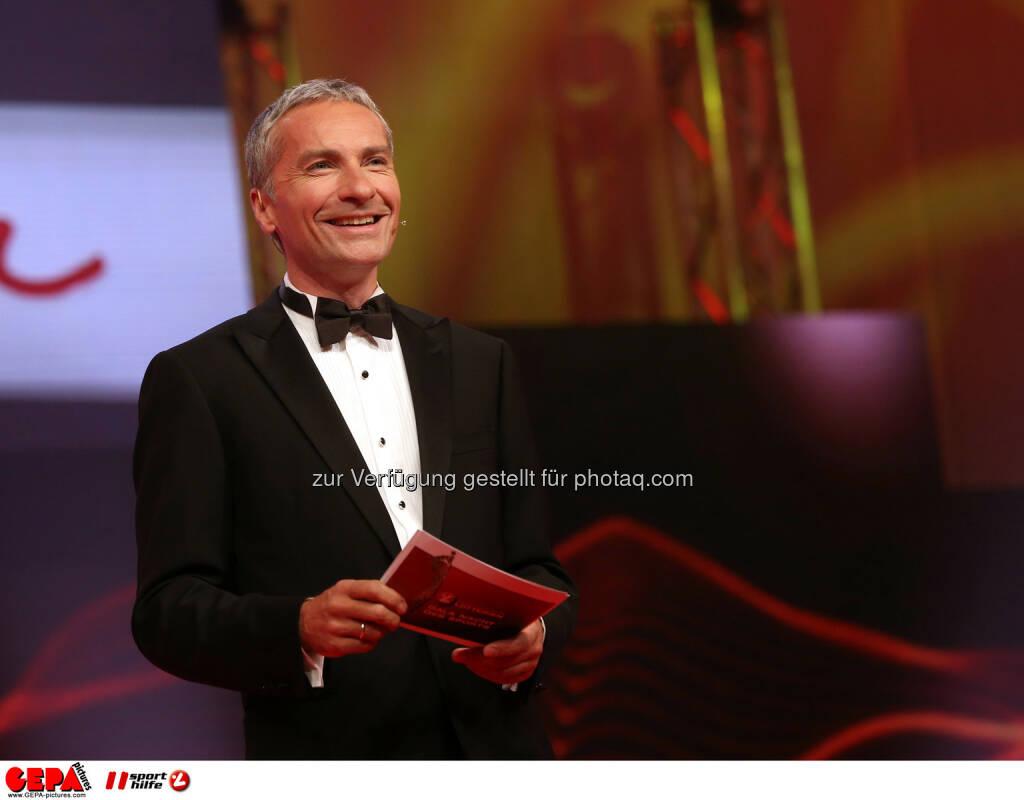 Rainer Pariasek. Foto: GEPA pictures/ Markus Oberlaender (02.11.2013)
