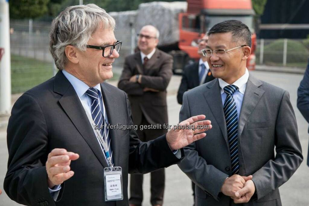 voestalpine-Chef Wolfgang Eder in Südostasien, siehe http://bit.ly/1b21aAP (05.11.2013)