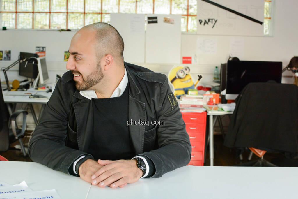 Ali Mahlodji (whatchado), © finanzmarktfoto.at/Martina Draper (08.11.2013)