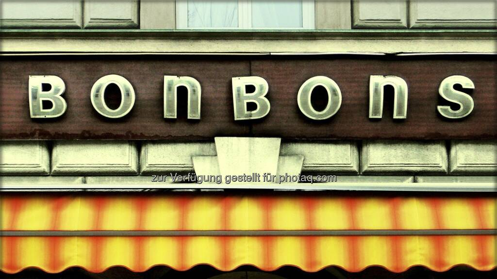 Bonbons ; Schild, © Volker Plass (15.12.2012)