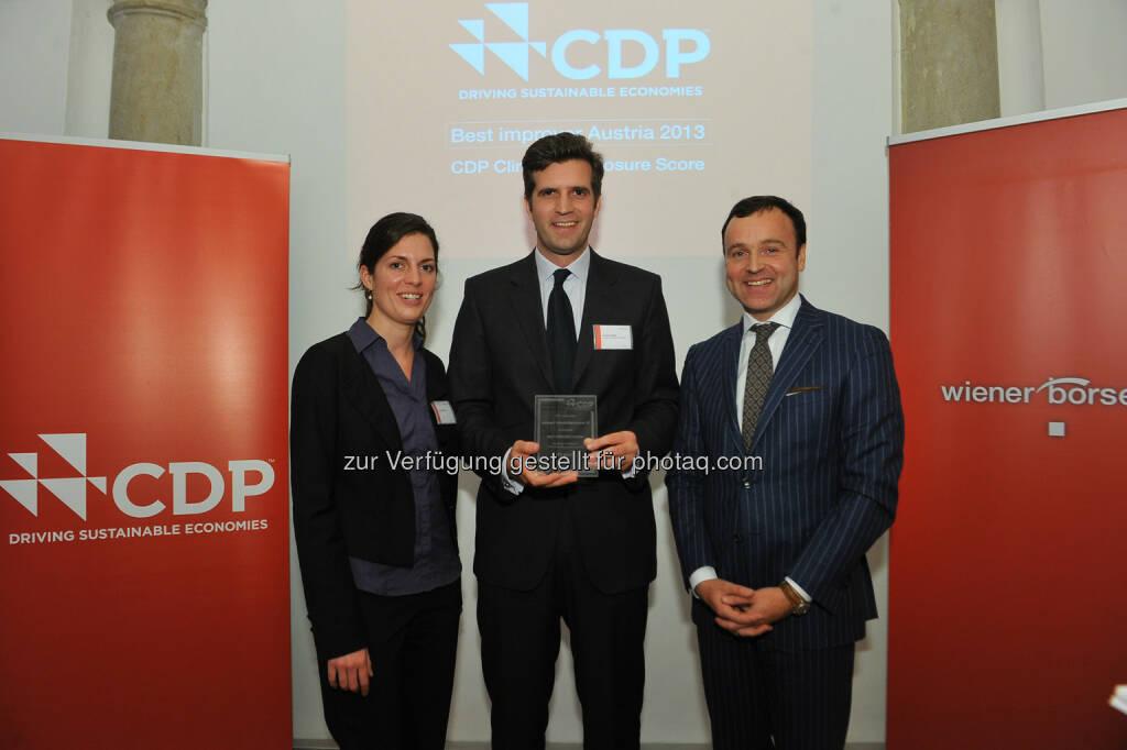 Clemens Billek, conwert - CDP Österreich Jahreskonferenz 2013, © CDP, Fotograf: Philipp Hutter. (11.11.2013)