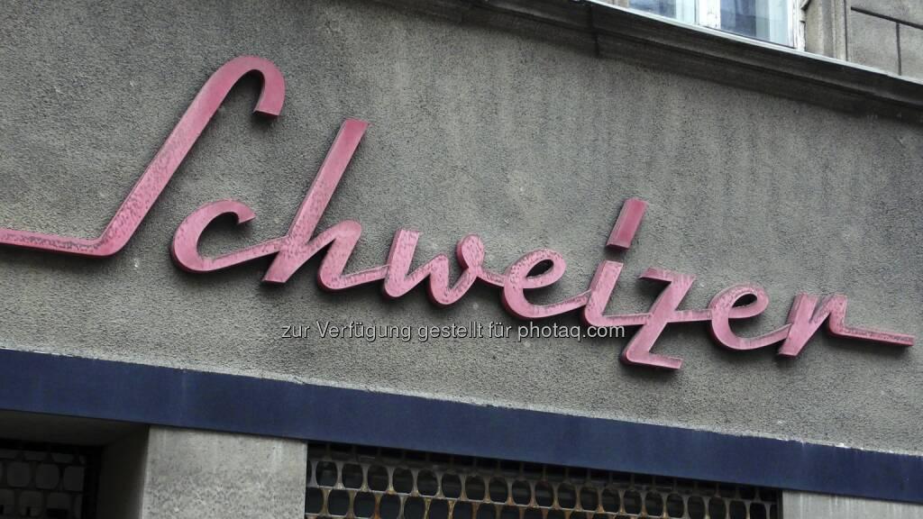 Schweizer ; Schild, © Volker Plass (15.12.2012)