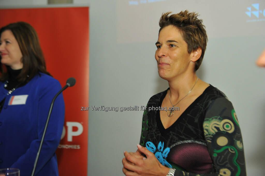 Michaela Dorfmeister, © CDP, Fotograf: Philipp Hutter. (11.11.2013)