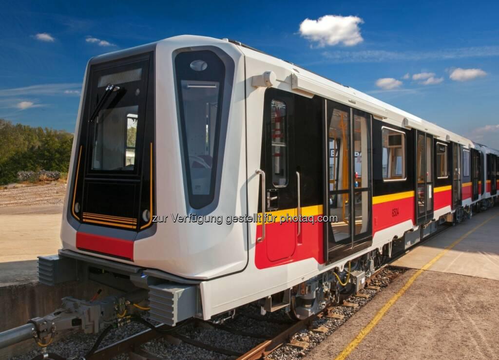 Die von Siemens und DesignworksUSA, einem Tochterunternehmen der BMW Group, entwickelte Metro-Plattform Inspiro erhielt in Berlin den Bundespreis Ecodesign in der Kategorie Produkte (Bild: Siemens) (12.11.2013)