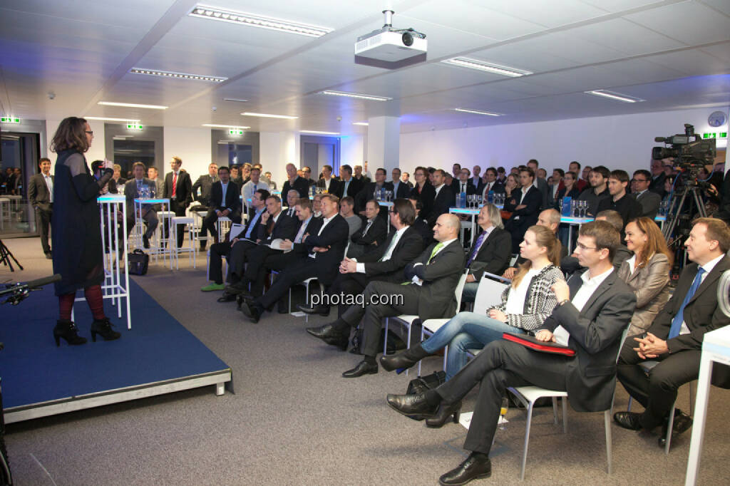 Edeltraud Stiftinger, Geschäftsführerin AWS, Publikum, © finanzmarktfoto.at/Michi Mejta (13.11.2013)
