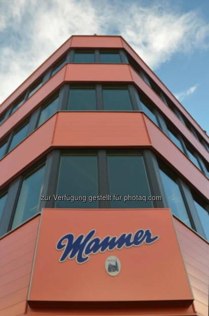 Erste Group Immorent baute ein neues Bürogebäude auf dem Firmensitz der Josef Manner & Comp. AG in Wien-Hernals und übernahm bei diesem Projekt auch die Finanzierung, die Projektsteuerung und die Generalplanung. Nach rund einem Jahr Bauzeit wurde das Bürogebäude nun feierlich eröffnet. Das Projekt verfügt über eine gesamte Bruttogeschoßfläche von rund 3.000 m² (c) Erste Group Immorent (15.11.2013)