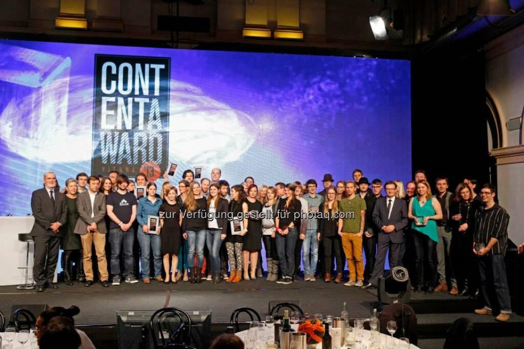 Content Award Night 2013: So sehen glückliche Gewinnerinnen und Gewinner aus, © ZIT, www.contentaward.at , www.zit.co.at (15.11.2013)