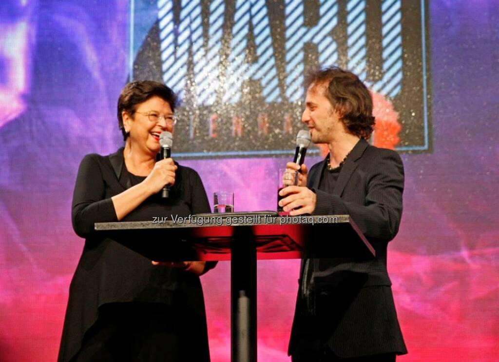 Renate Brauner, Vizebürgermeisterin und Schirmherrin des Content Award, eröffnete die Preisverleihung, © ZIT, www.contentaward.at , www.zit.co.at (15.11.2013)