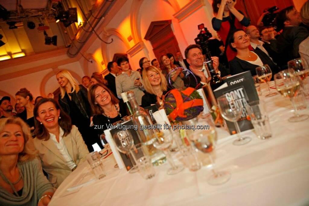 Die spannenden Produktionen und die Moderation von Michael Ostrowski sorgten für gute Laune, © ZIT, www.contentaward.at , www.zit.co.at (15.11.2013)