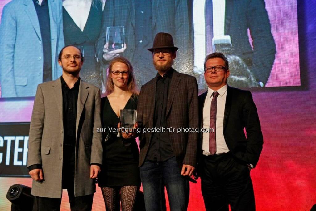 Die Industrial Motion Film Produktion GmbH bekam den Sonderpreis für den besten Character im Animationsfilm Tardiagradia - the wild little world, © ZIT, www.contentaward.at , www.zit.co.at (15.11.2013)
