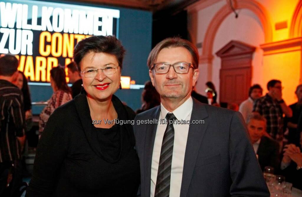 Renate Brauner auf der Content Award Night 2013, © ZIT, www.contentaward.at , www.zit.co.at (15.11.2013)