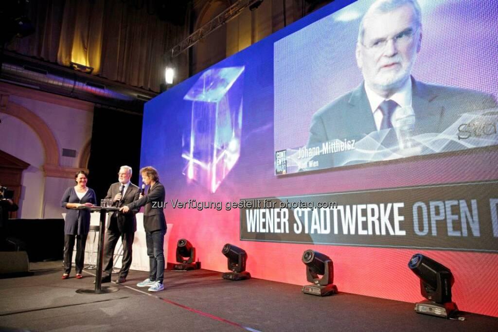 Die Wiener Stadtwerke vergaben den Open Data Preis, © ZIT, www.contentaward.at , www.zit.co.at (15.11.2013)
