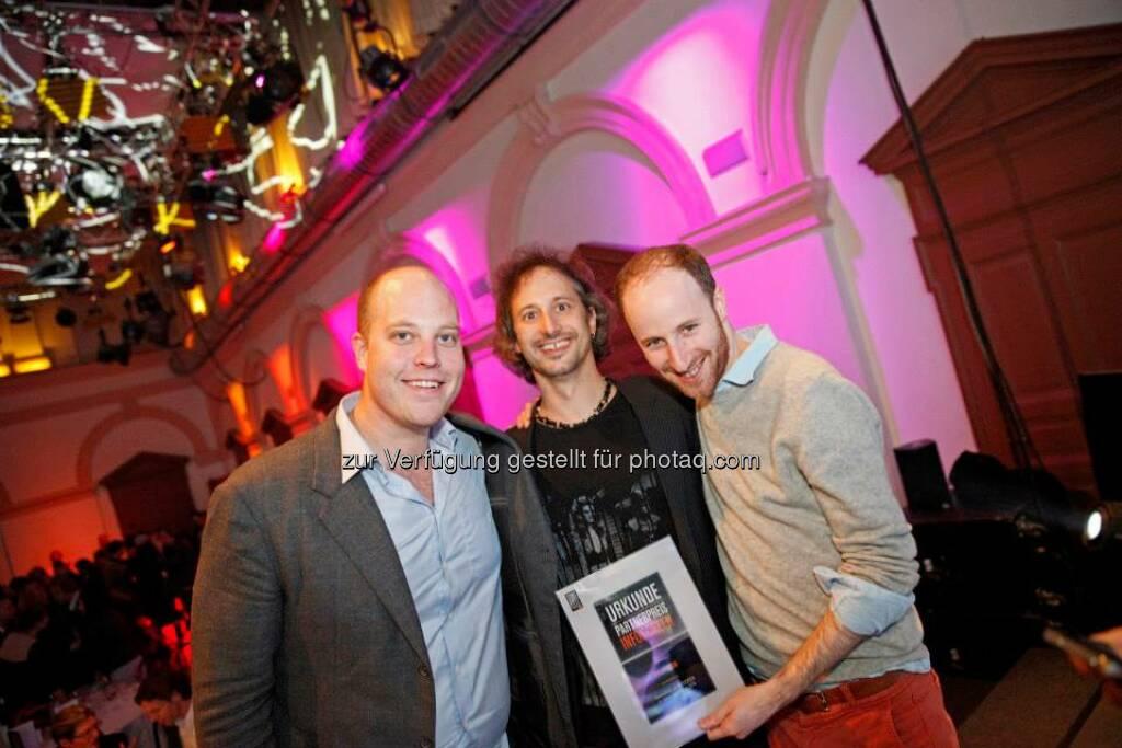 Shopikon erhielten den Infoscreen Partnerpreis, © ZIT, www.contentaward.at , www.zit.co.at (15.11.2013)