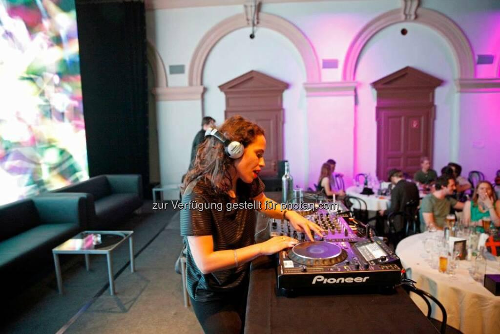 DJ Content Award Night 2013, © ZIT, www.contentaward.at , www.zit.co.at (15.11.2013)