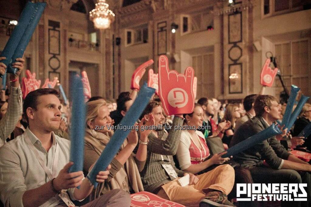 Pioneers Festival 2013 © Andreas Nader/pioneers.io, © pioneers.io (15.11.2013)