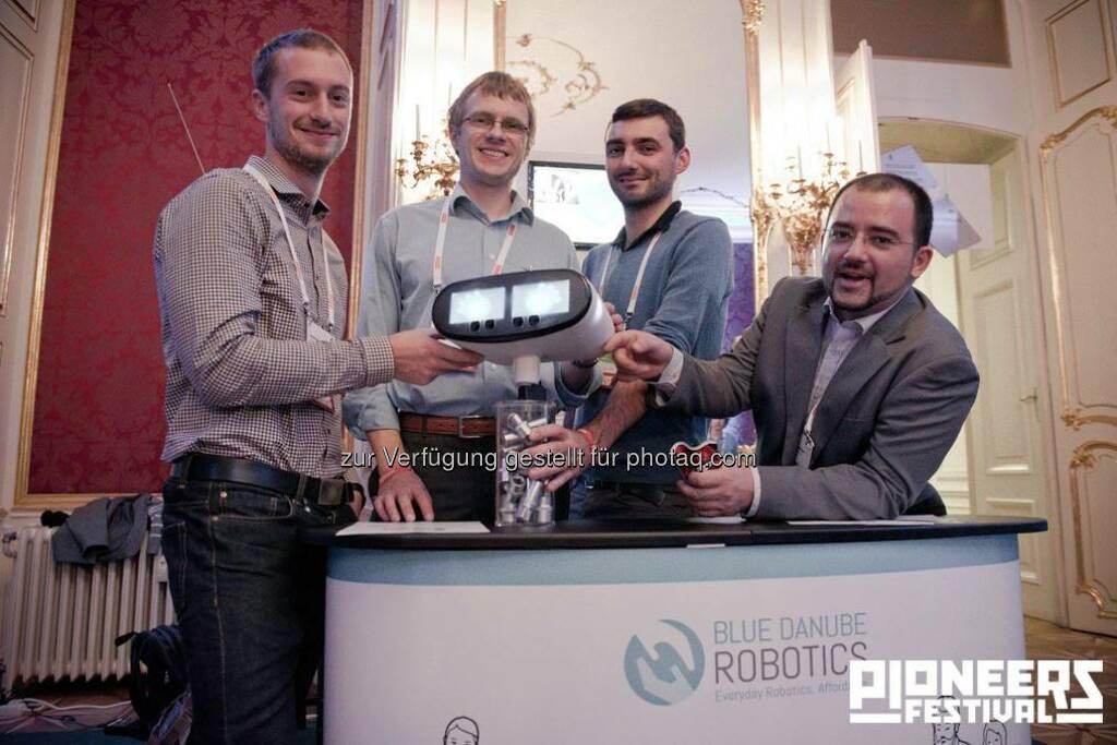 Blue Danube Robotics © Christoph Kerschbaum/pioneers.io, © pioneers.io (15.11.2013)