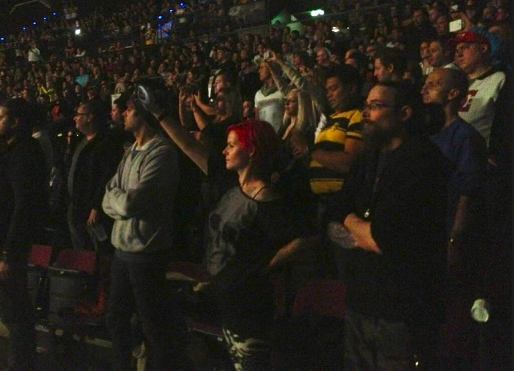 WWE-Fans in der Stadthalle (17.11.2013)
