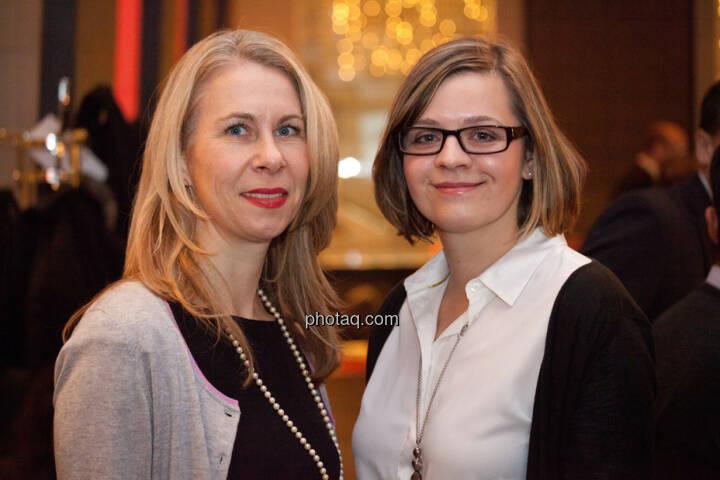 Gunilla Pendt (Leiterin Marketing & Kommunikation Brunel Europe), Doreen Paschke (Referentin Presse- und Öffentlichkeitsarbeit)