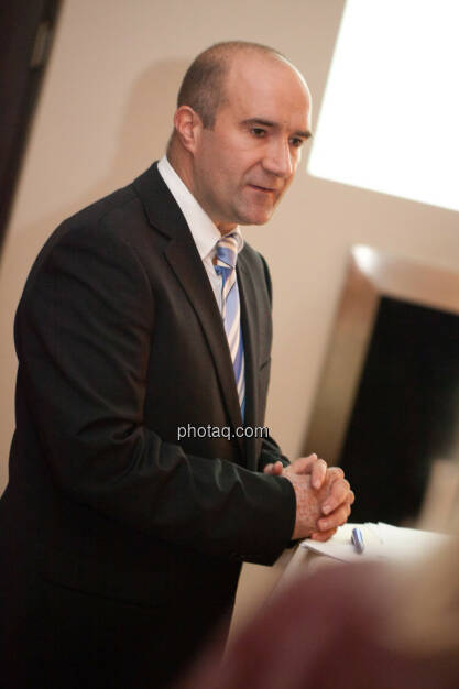 Harald Kuchelbacher (Geschäftsbereichsleiter Österreich, Brunel), © Michaela Mejta für Brunel (20.11.2013)